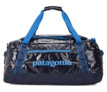 Marineblaue Handgepäcktasche mit Trägern Duffle Black Hole 60L