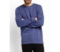 Blaumeliertes Sweatshirt Modestie Steve