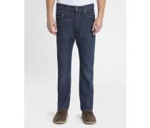 Blaue Stretch-Jeans 501