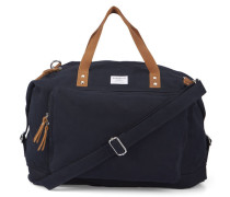 Schwarze Aktentasche mit Reißverschlusstasche Charles