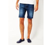 Line Shorts Echo Blue