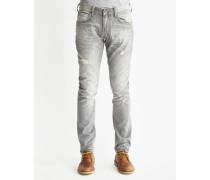 Luke Slim Tapered Jeans in Misfit Grey