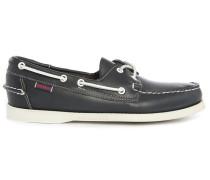 Dunkelblaue Schuhe Docksides