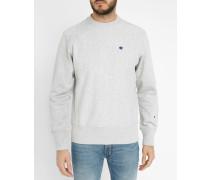 Grau meliertes Sweatshirt Classic