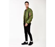 Classic MA1 Vintage Fit Bomber Jacket Sage Green