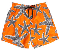Orange Badehose Moorea Starlettes
