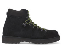 Boots Roccia Vet aus schwarzem Veloursleder