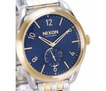 Gold-blaue Uhr C-39 SS Sunray