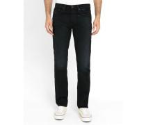 Verwaschene schwarze Slim Jeans 511