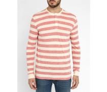Langärmeliges T-Shirt mit Streifen Colley Pr in Rot
