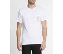 T-shirt mit Aufdruck Martini Girls Weiß
