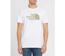 Weißes T-Shirt mit Logo TNF Pr