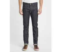 Jeans Slim Red Selvage ED-One in Washed-Dunkelblau