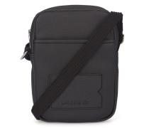 Kleine schwarze Umhängetasche mit Tasche auf der Vorderseite Camerabag