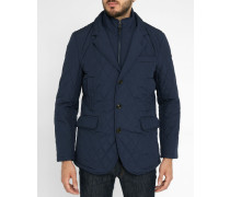 Marineblaue gesteppte Jacke Quilted mit abnehmbarer Membran MYF