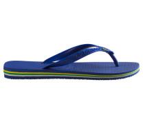 Blaue Flip-Flops Brasil