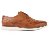 Cuero Schuhe braun (cognac)