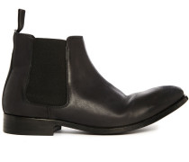 Chelsea Boots Lydon aus braunem Leder