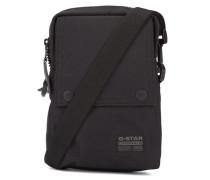 Tasche mit Druckknopf in Schwarz
