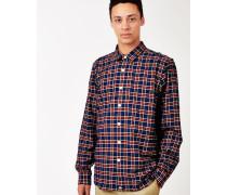 Oldenburg Check Shirt Blue