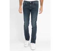 Slim Jeans blau ausgewaschen Dorian
