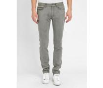 Graue Slim-Jeans MJ113 Shadow
