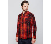 Levi's Vintage Shorthorn Plaid Shirt Red