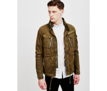Schott Short Field Jacket Khaki