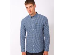 L880 Button Down Shirt Washed Blue