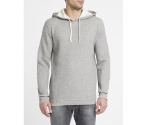 Grau melierter Kapuzensweater Kibbystate