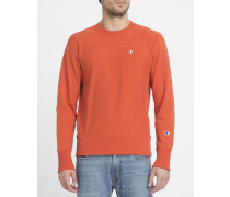 Oranges Sweatshirt mit Logo