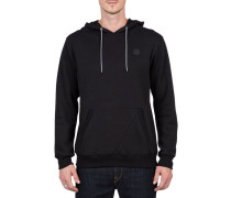 Single Stone P/O Hoody schwarz (BLACK)