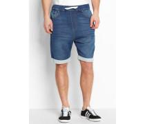 ADIDAS French Terry Denim Shorts