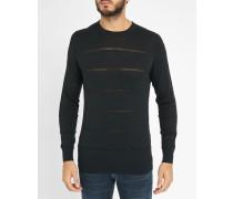 Pullover mit Rundhalsausschnitt durchbrochener Strick Tari
