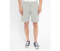 Grau melierte Jersey-Shorts Pr