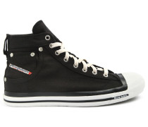 Hohe Sneakers denim schwarz Exposure