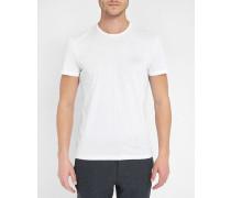 Weißes T-Shirt mit Logo