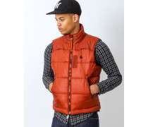 Whistler Vest Myrow Nylon in Red