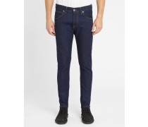 Nachtblaue Slim Jeans Tapered Raw ED-85