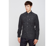 Sunset 1 Pocket Shirt Black