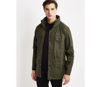 Four Pocket Jacket Green