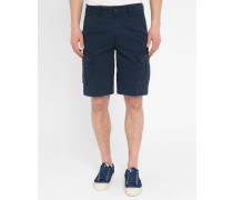 Marineblaue Cargo-Shorts