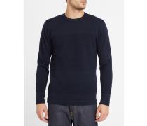 Marineblauer Wollpullover Skagen Bubble Knit