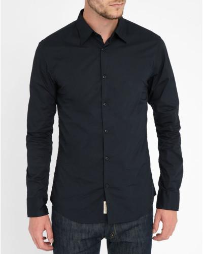 scotch soda herren wei es hemd aus stretch popeline reduziert. Black Bedroom Furniture Sets. Home Design Ideas