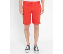 Rote Chino-Shorts Pito
