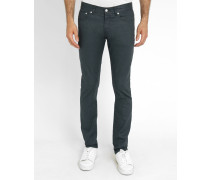 Graue Slim Jeans