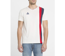 Vintage-T-Shirt Stripes in Ecru