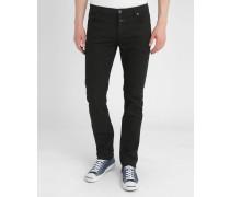 Slim-Jeans Schwarz