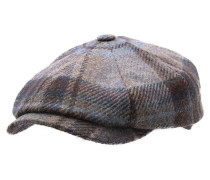 Flatcap hatteras virgin wool check