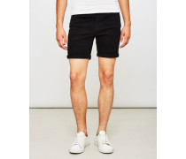 Loom Denim Shorts Black